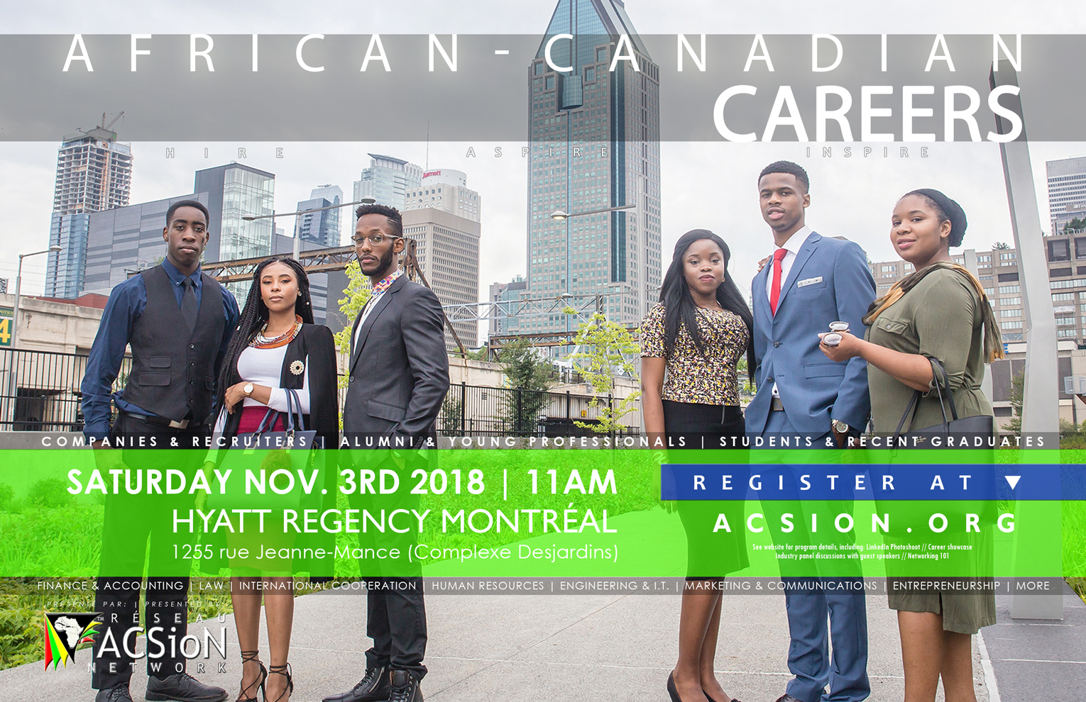 African-Canadian Careers 2018